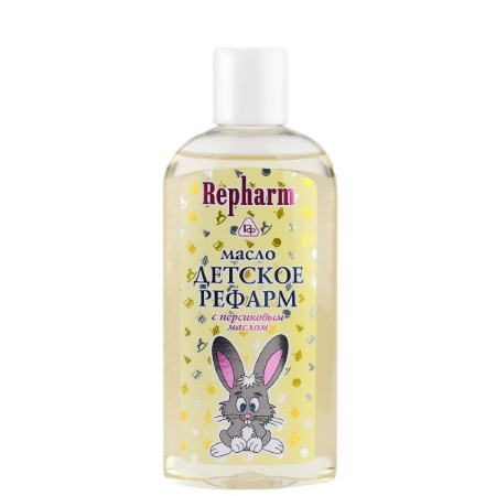 """Масло ДЕТСКОЕ """"РЕФАРМ"""" с персиковым маслом"""