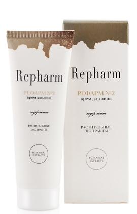 Отбеливающий крем для лица «РЕФАРМ №2» с гиалуронатом натрия