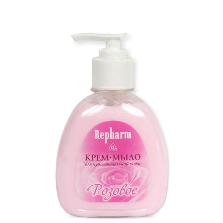 Крем-мыло для чувствительной кожи «РОЗОВОЕ»