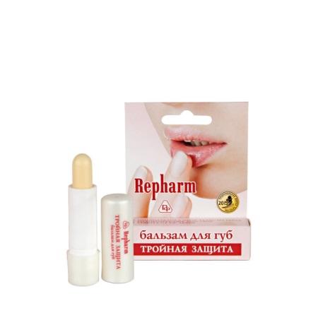 Бальзам для губ «ТРОЙНАЯ ЗАЩИТА» противовирусный