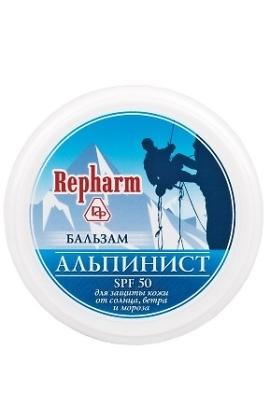 Бальзам АЛЬПИНИСТ SPF 50 для защиты от солнца, ветра и мороза